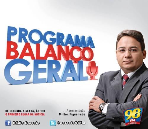 Programa 'Balanço geral' volta a ser produzido nos estúdios da 98 FM de Campina Grande