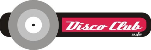 Logotipo do 'Disco Club' feito por Laercio Barros (aka DJ Gnomo) em 2006.